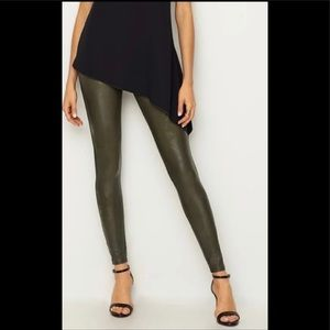 Spanx Faux Leather Leggings /Brand New With Tags